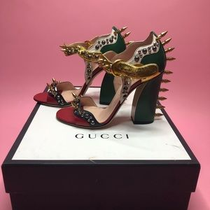 Gucci Shoes - Gucci spiked heels